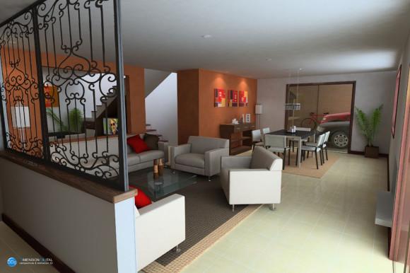 3D Diseño Interior AlessandroII Paraguay
