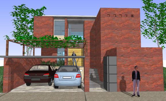3D Anteproyecto Vivienda Paraguay