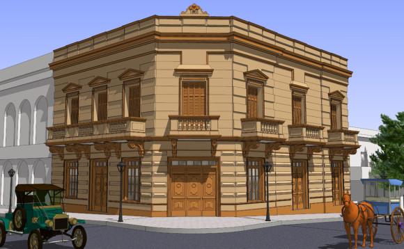3D Modelado Hotel Ambassador