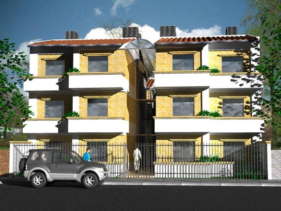 3D Residencia universitaria Concepción Paraguay