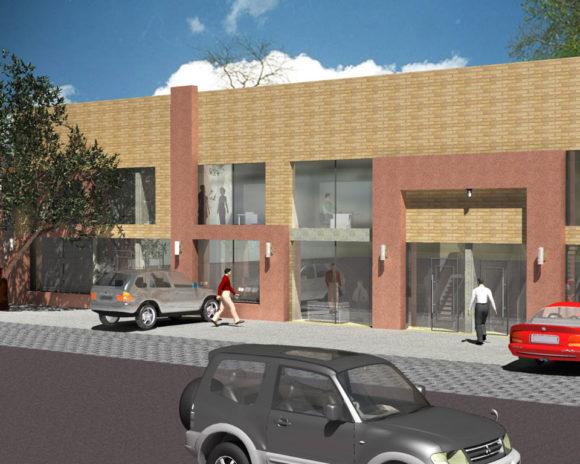 3D Diseño Oficinas Comerciales Paraguay