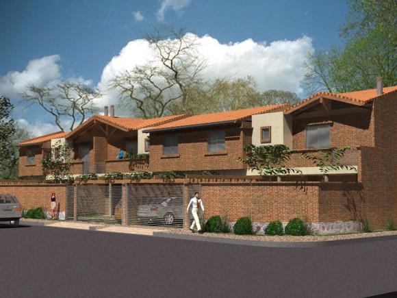 3D Duplex (3 Unidades) Arquitectura Paraguay