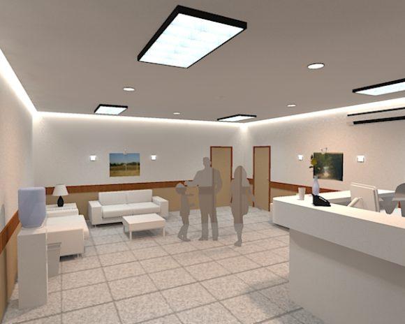 3D Diseño Interior Consultorio