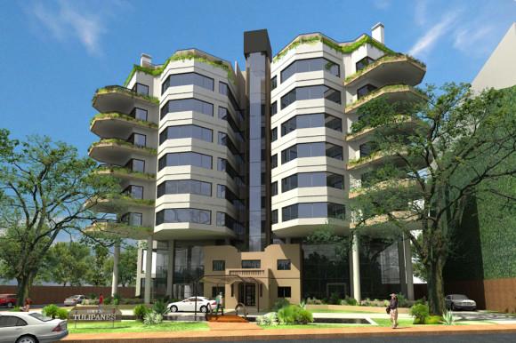 3D Edificio Tulipanes