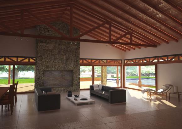 interior estancia