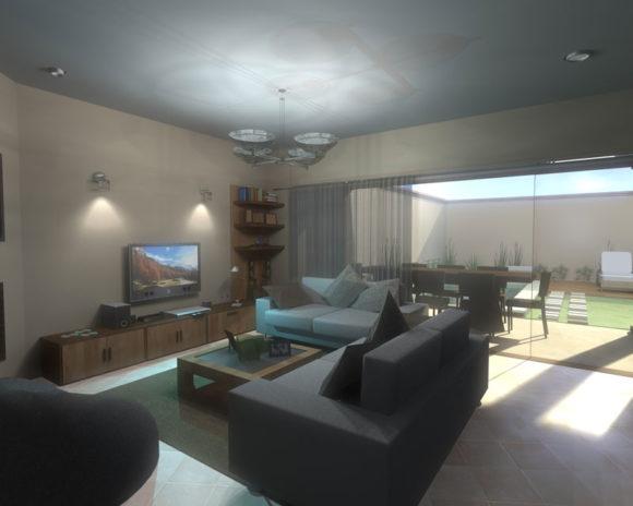 3D Interior Vivienda