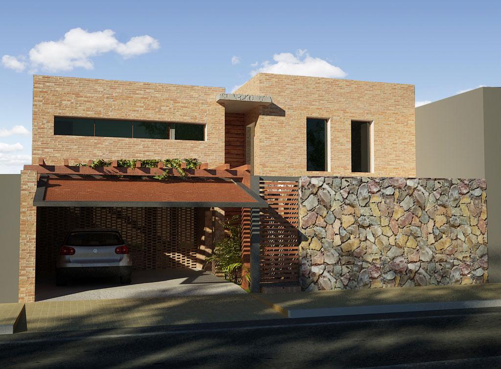 3d vivienda unifamiliar balbuena render arquitectos for Software para diseno de casas