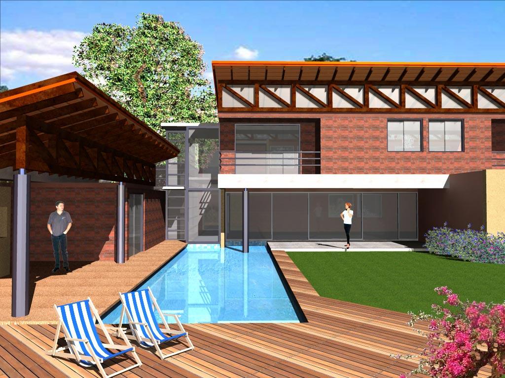 Planos de casas 20 panos en autocad incluye fachada 3d for Planos de casas 3d