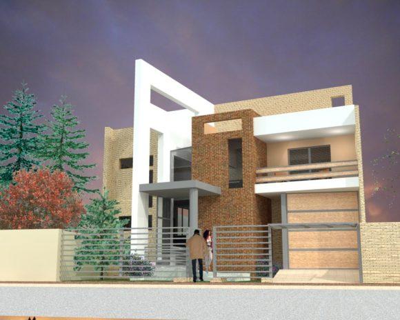 3d vivienda unifamiliar paraguay for Programas de 3d para arquitectos