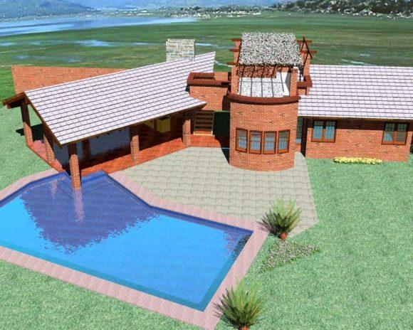 Diseño de quincho arquitectura tradicional paraguay