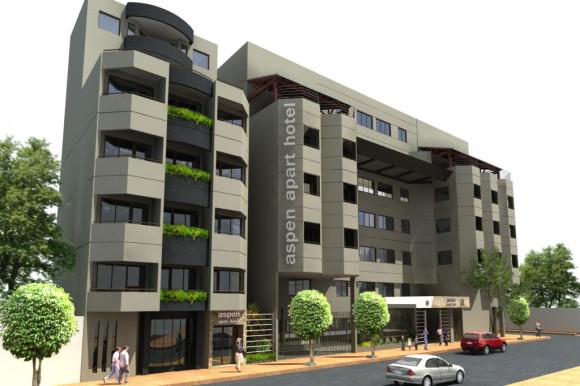 3D Edificio Aspen Fachada