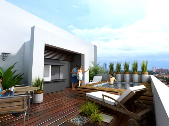 3D Edif. Alfonso - terraza
