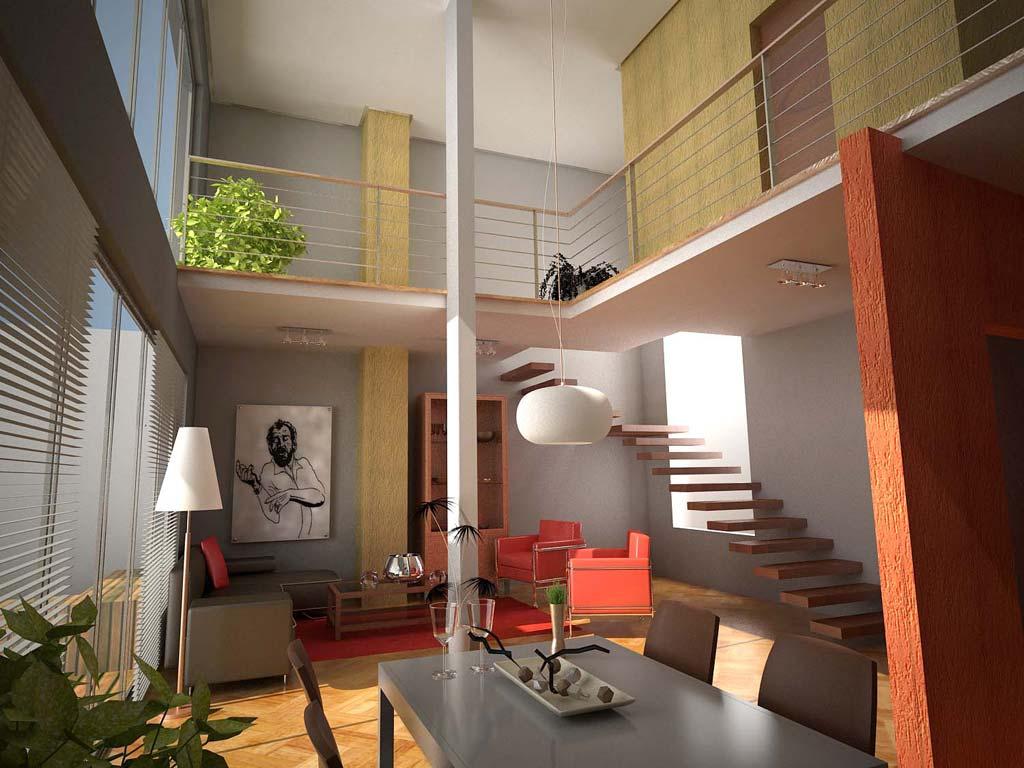 3d edificio campo cervera for Casas loft diseno