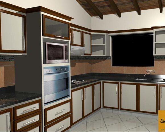 3D Mueble Cocina