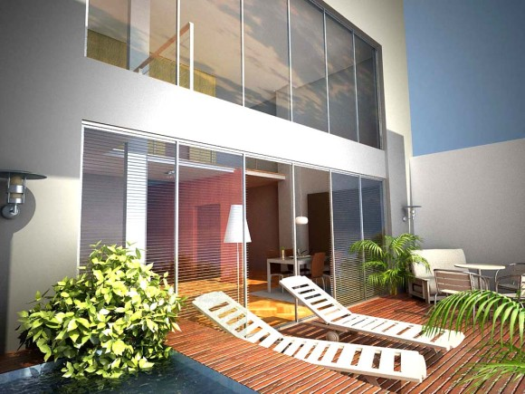 3D Edificio Campos Cervera