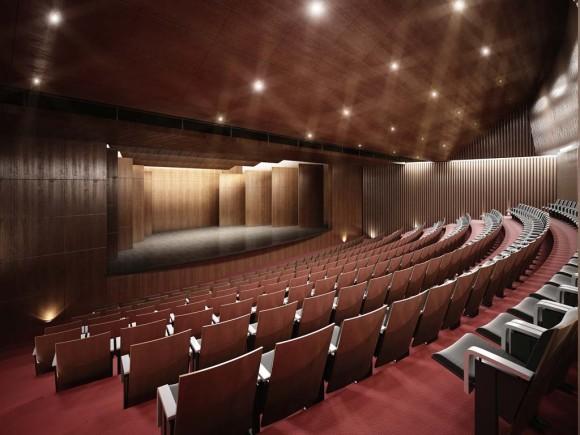 3D Interior Auditorio San Juan Bautista