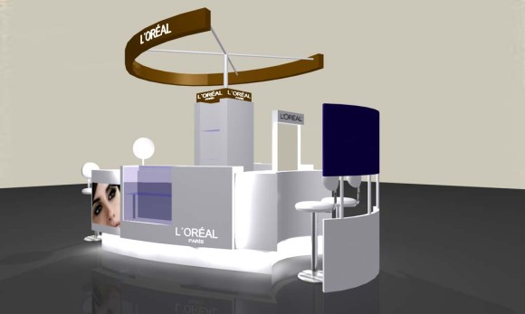 3D Mueble Loreal