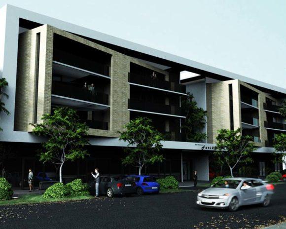 3D Edificio de Departamentos