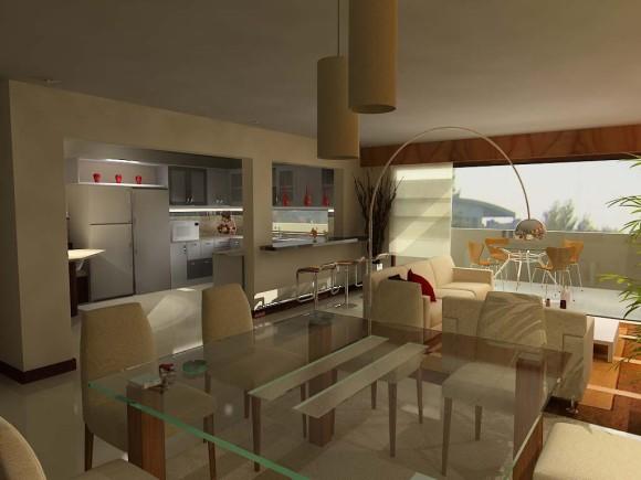 3D Dpto Interiores