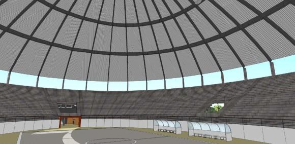 Estadio Diseño Interior