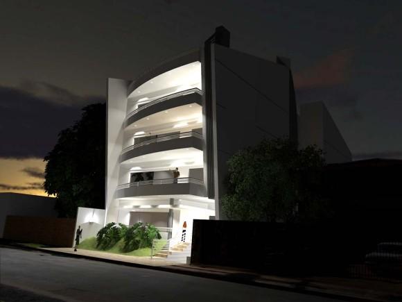 Edificio de Departamentos LUMA contrucción