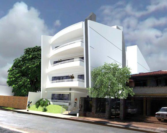 3D Edificio de Departamentos LUMA