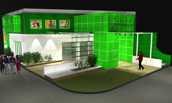 Proyecto y 3D Stand Coop. Chortitzer