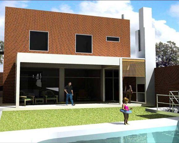 3D Vivienda en Mburucuya 2 Propuesta