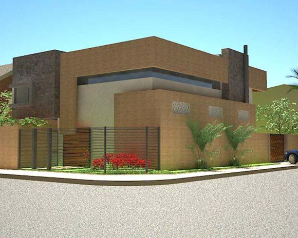 3D Vivienda Bau Modern