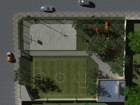 Planta General Mini Complejo Polideportivo