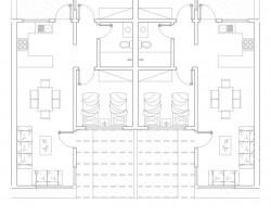 vivienda tipo plantas planos casa económica