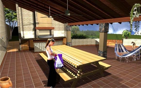 3D Reforma de Vivienda Smith