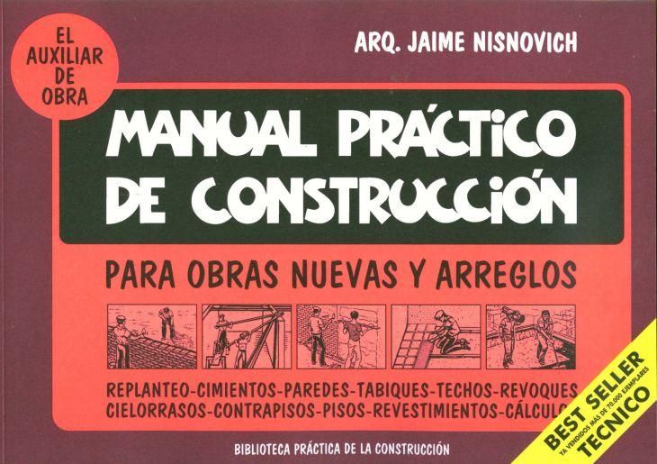 Manual de Construcción para obras nuevas y arreglos