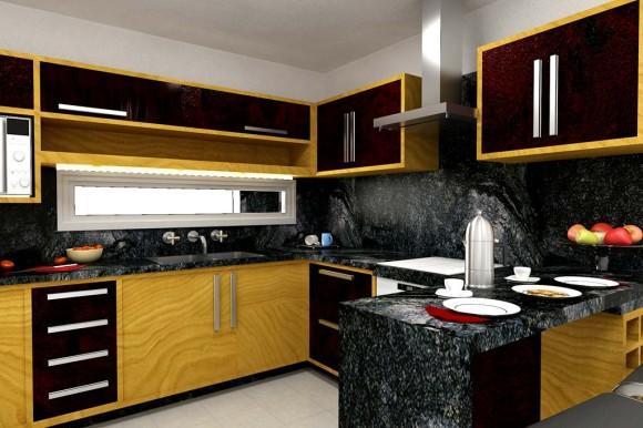 3D Reforma Cocina / Construida