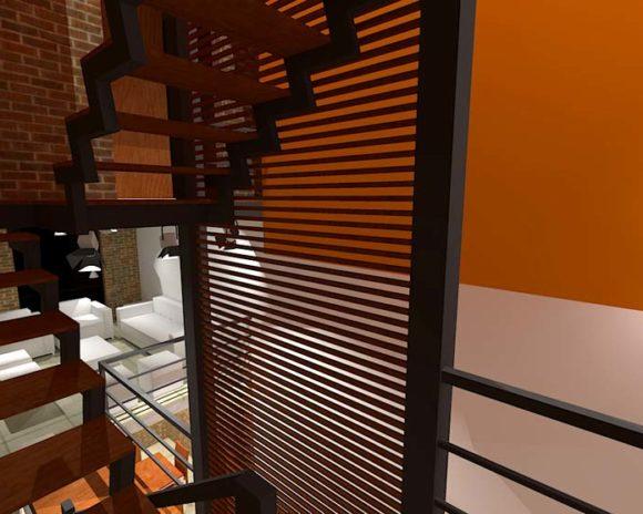 3D Interiores Vivienda GIO