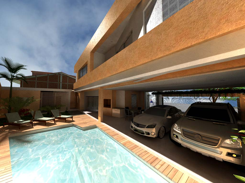 3d vivienda darinel render for Software diseno piscinas