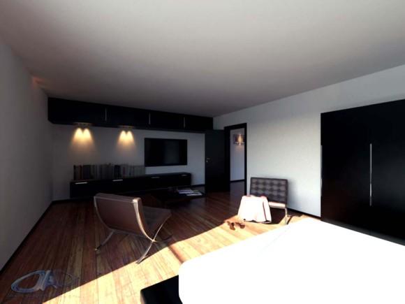 3D Remodelación dormitorio