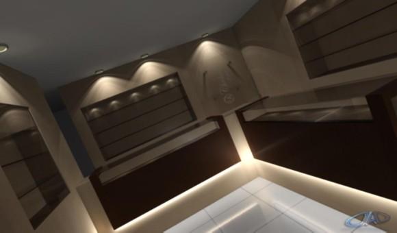 Propuesta de salón para joyeria en Luque (en construcción)