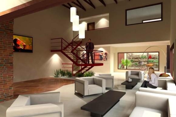 Interior Loft Diseño Arquitectura