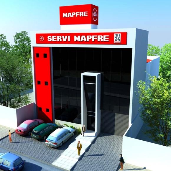 3D Anteproyecto Edificio Mapfre CDE