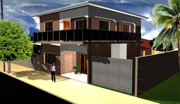 3D Residencia en Oviedo