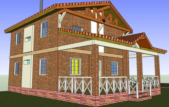 3D Vivienda en San Bernardino 2