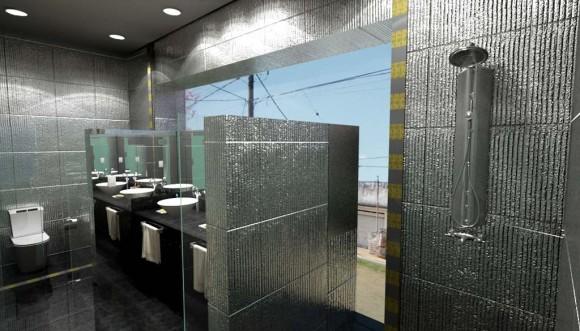3D Diseño Baño Particular