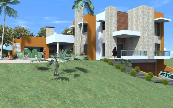 3D Casa Maca