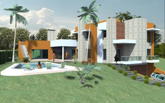 Casa Maca Exterior con piscina