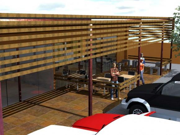 Interiores Heladería Arquitectura y Diseño Comercial Mobiliario Interior