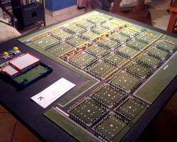 Maqueta Plan urbanistico de Loteamiento Solaris SA