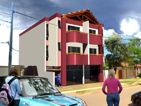 3D Edificio Monges