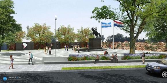 3D Plaza San Martin
