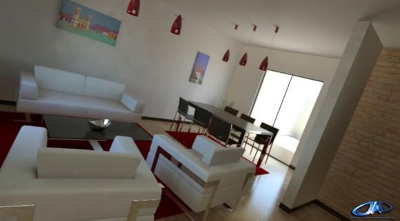 3D Interior Duplex MASKOI